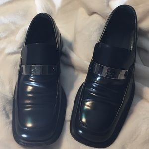 GUCCI MEN BLACK SHOES SIZE 7.5D
